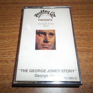 THE GEORGE JONES STORY CASSETTE